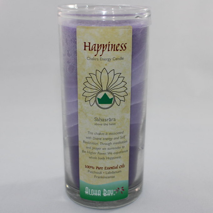 Happiness - Chakra Energy Candle - Jar 11oz