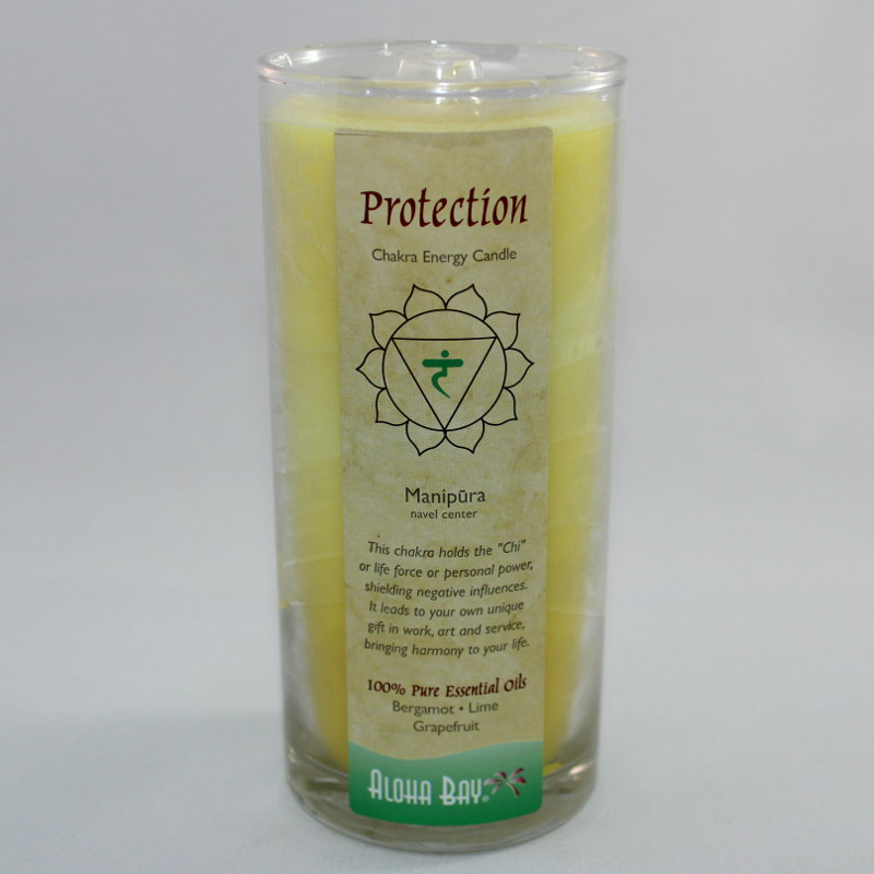 Protection - Chakra Energy Candle - Jar 11oz