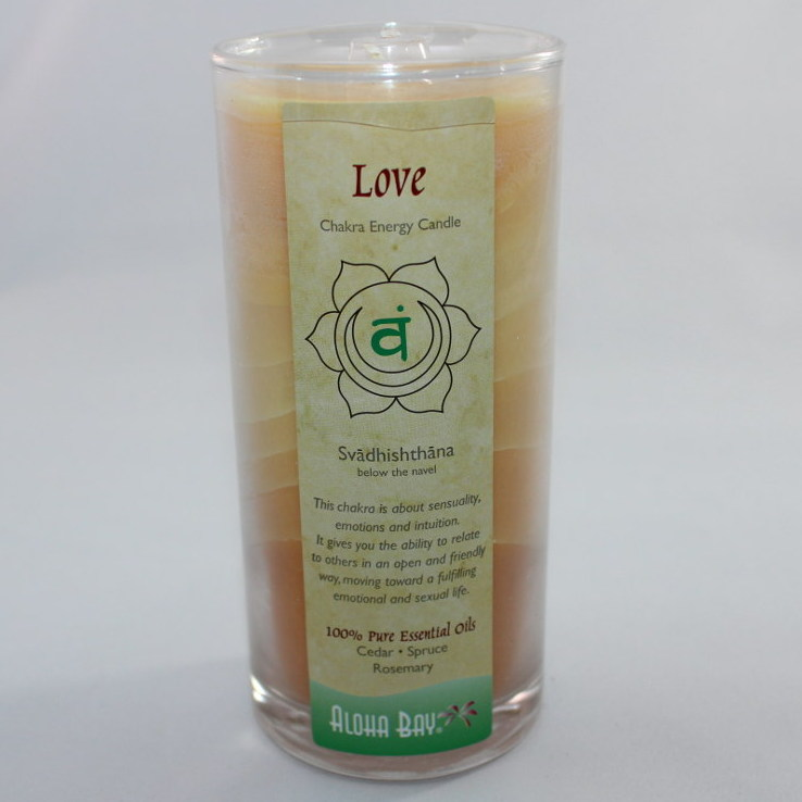 Love - Chakra Energy Candle - Jar 11oz