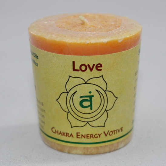 Love - Chakra Energy Candle - Votive 2oz