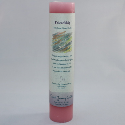 "Friendship - Herbal Magic Candle - Pillar 7"" Tall"