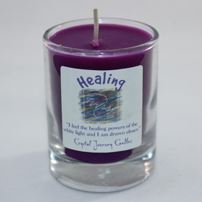 Healing - Herbal Magic Votive Jar