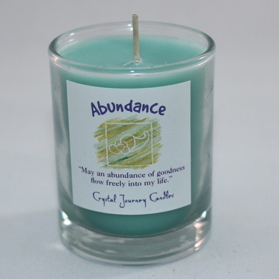 Abundance - Herbal Magic Votive Jar