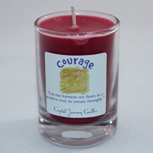 Courage - Herbal Magic Votive Jar