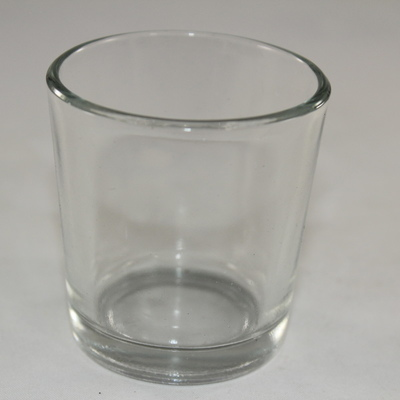 Empty Candle Glass Votive - Holder - Small