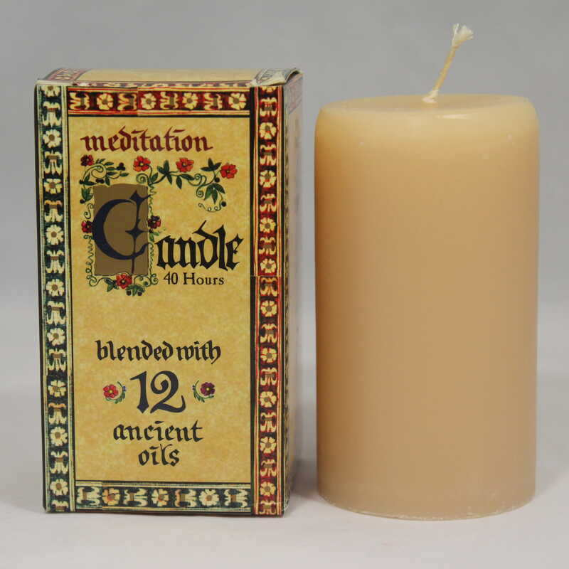 Meditation Oil - Candle Small