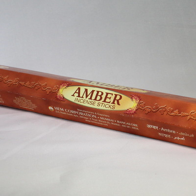 Amber Incense Sticks - HEM