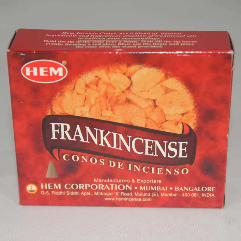 Frankincense Incense Cones - HEM