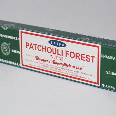 Patchouli Forest Incense Sticks - Satya