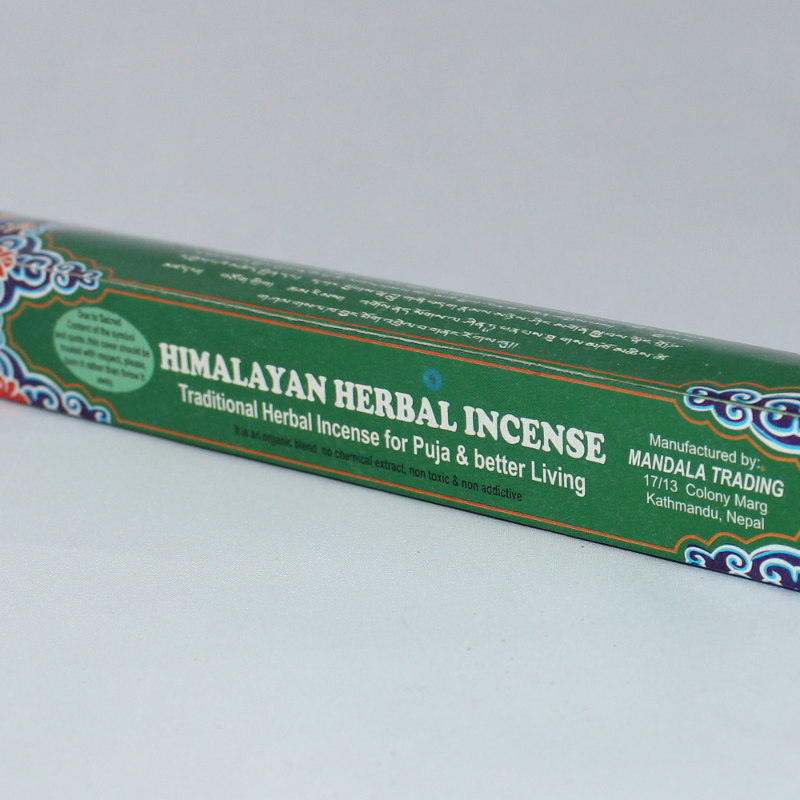 Himalayan Herbal Hand Rolled Medicinal Incense Sticks