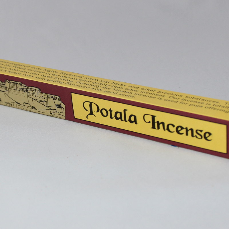 Potala Hand Rolled Medicinal Incense Sticks