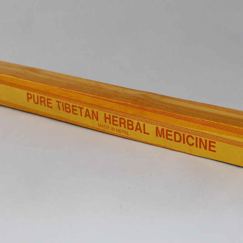 Pure Tibetan Hand Rolled Herbal Medicine Incense Sticks