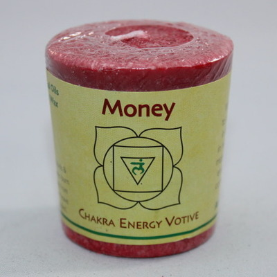 Money - Chakra Energy Candle - Votive 2oz