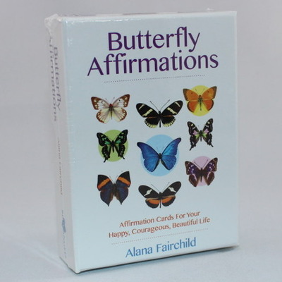 Butterfly Affirmations Cards
