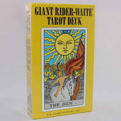 Giant Rider-Waite Tarot Card Deck