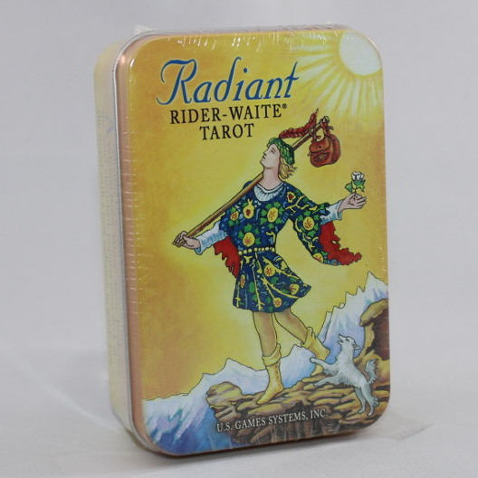 Radiant Rider-Waite Tarot - Tin Cards