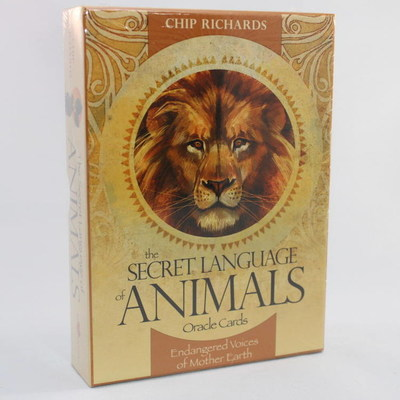 Secret Language Animals Oracle Cards